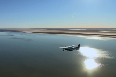 Plane1 over Lake Eyre